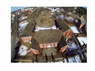 Herregården ved Larvik anno 1677