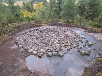 grav ved Larvik